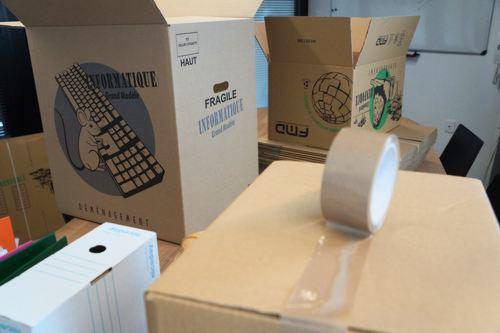 Commande de cartons