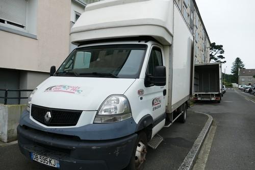 Location de camion avec chauffeur pour déménagement et transport de marchandises