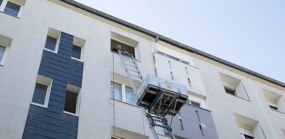 Déménagement avec monte-meubles pour immeubles et appartements