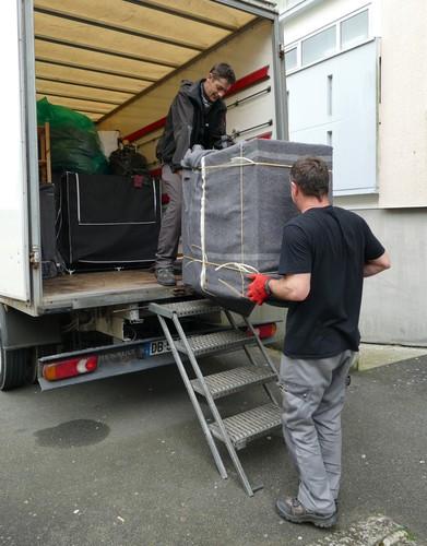 Déménagement de particuliers dans le Finistère, Brest et Quimper