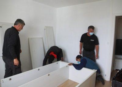 Démontage et remontage des meubles