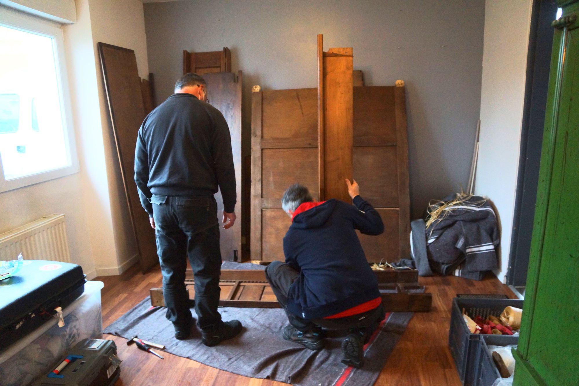 Démontage et remontage de vos meubles lors de nos prestations de déménagement