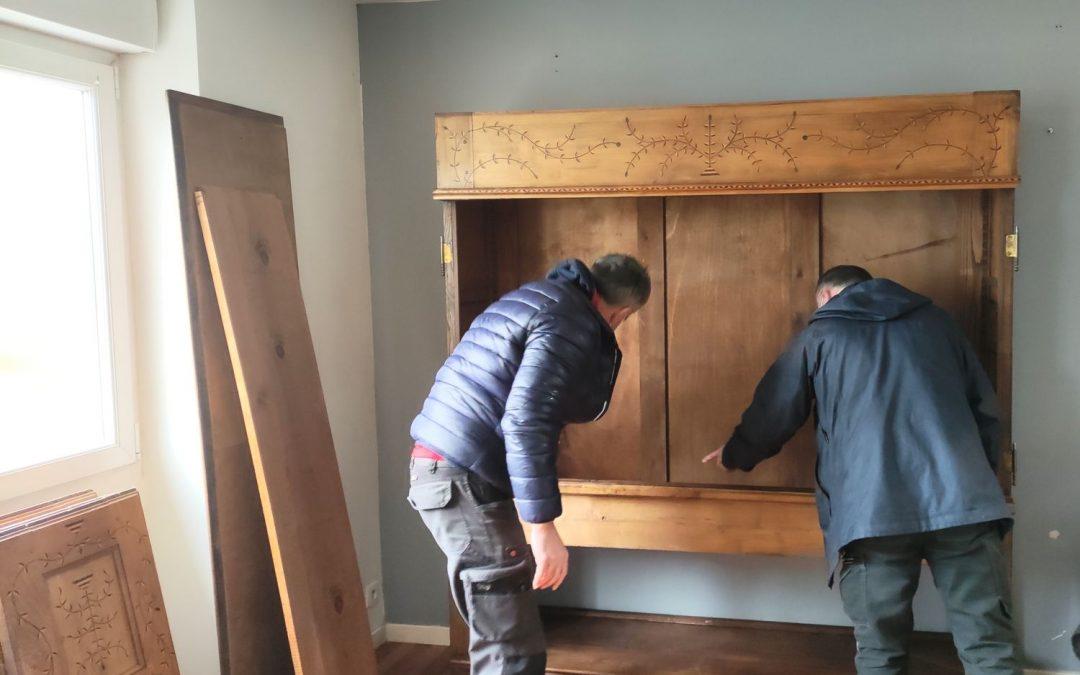 Démontage et remontage des meubles lors d'un déménagement dans le Finistère